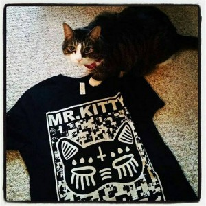 "Mr Kitty be like, ""Yeah, there's a band named after me."""
